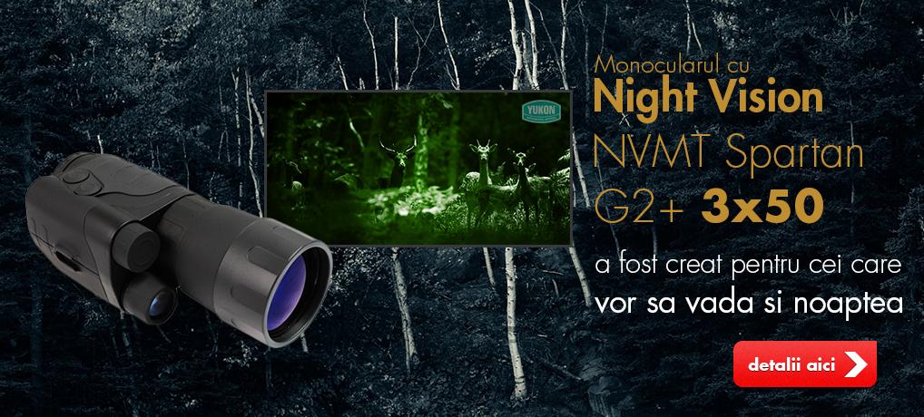 Night Vision Yukon NVMT Spartan G2+ 3×50